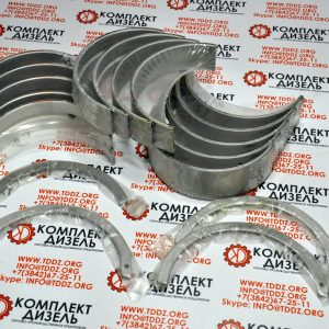 Вкладыши коренные MS-1625P, AR12270, AR10575. Для двигателя Cummins KTA19, KTTA19, QSK19. Деталь производства Mahle.