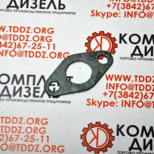 Прокладка трубки слива масла с турбины 3202117, KD3202117. Для двигателя Cummins QSK23, KTA19, KTTA19, QSK19. Деталь производства ООО «КомплетДизель».