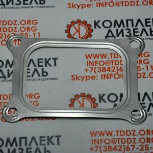 Прокладка турбокомпрессора 3177942. Для двигателя Cummins KTA19, KTTA19, QSK19. Деталь производства KMP.